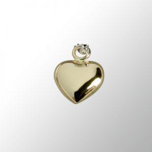 Berlock guldhjärta