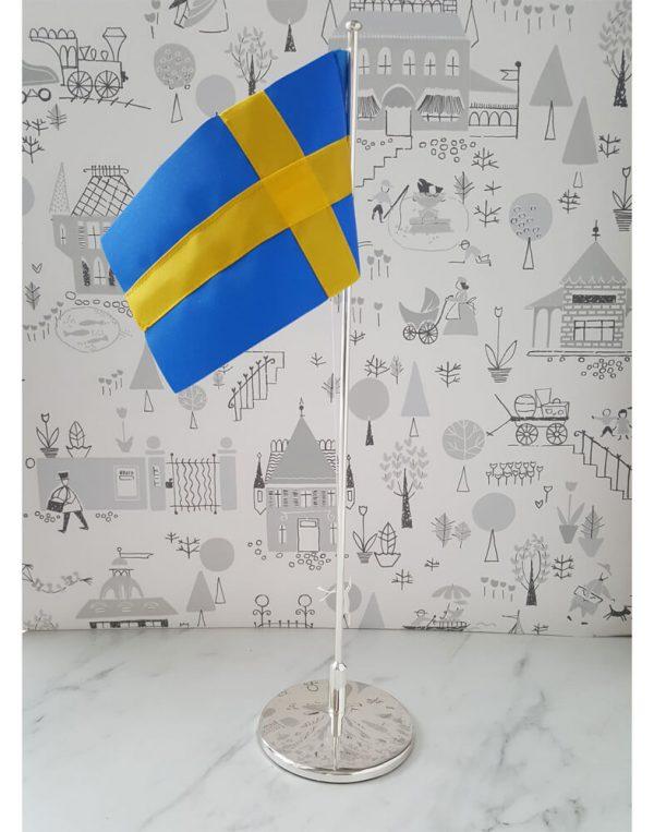 Doppresent flagga