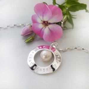Silversmycke My Pearl