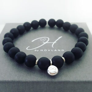 Pärlarmband svart