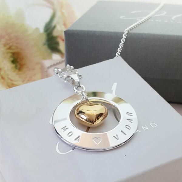 Silversmycken halsband