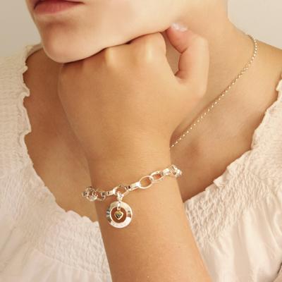 silversmycke armband