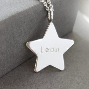 Namnsmycken My star