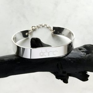 Silverarmband 10mm