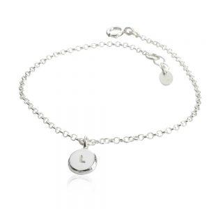 Armband i silver RAW