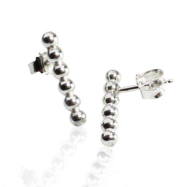 Silverörhänge stift