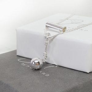 Friidrott slägga halsband